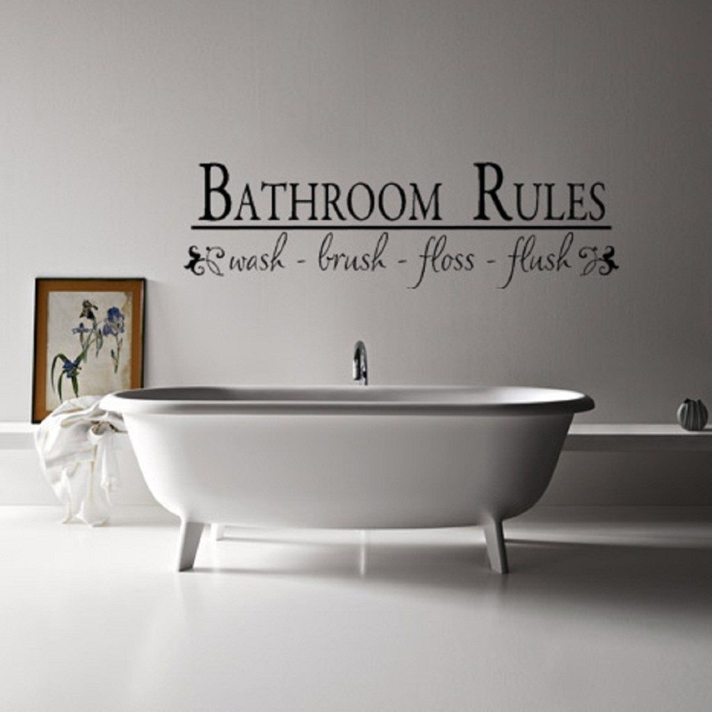 Charming Bathroom Wall Decor Inspirations The Home Redesign
