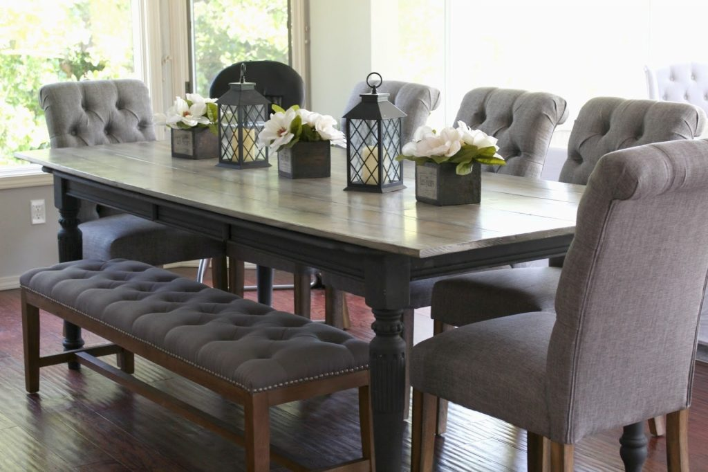Charming Dining Room Tables For 10 Esescatrina