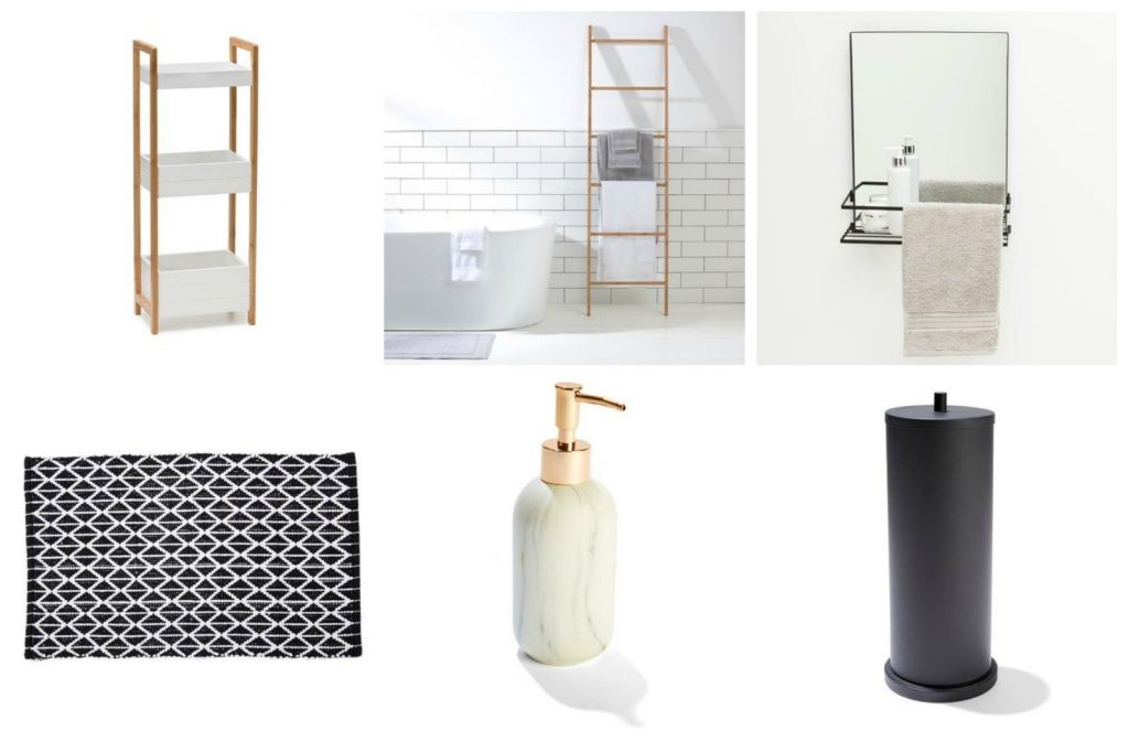 Cheap And Chic Bathroom Accessories And Storage From Kmart The