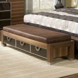 Chic Bedroom Storage Bench With Drawers Home Furniture