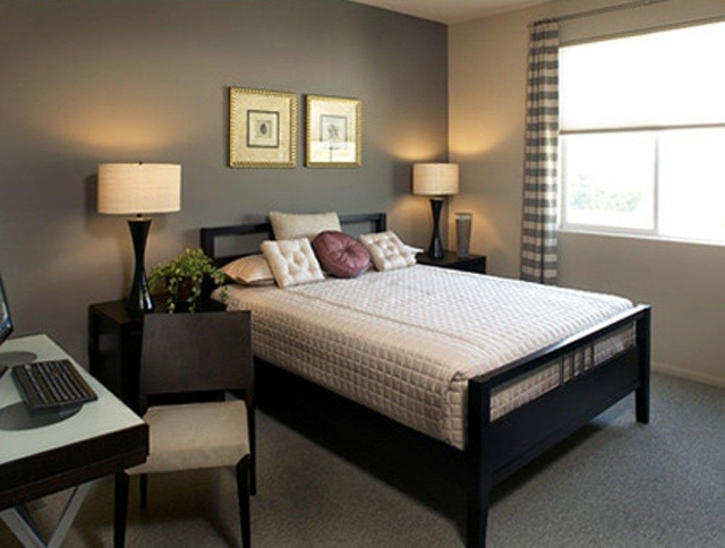 Chocolate Brown Bedroom Ideas Accent Walls In Small Diy Decor Ideas