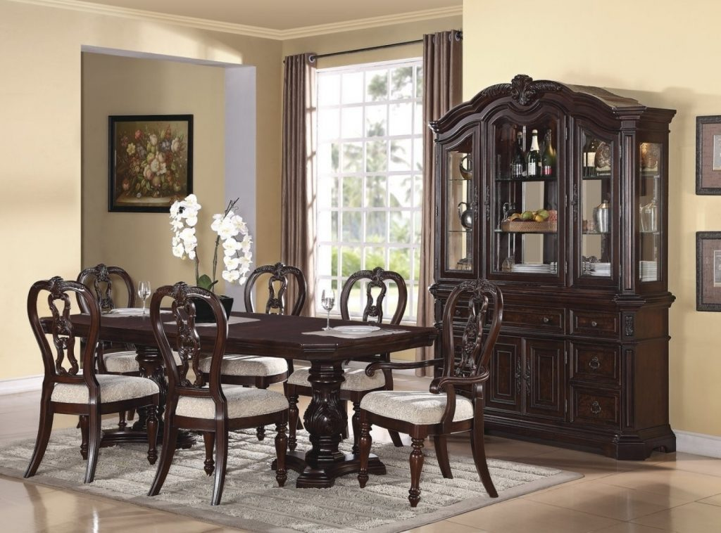 Classic Dining Room Sets Ebay Set Of Kitchen Style Formal Dining