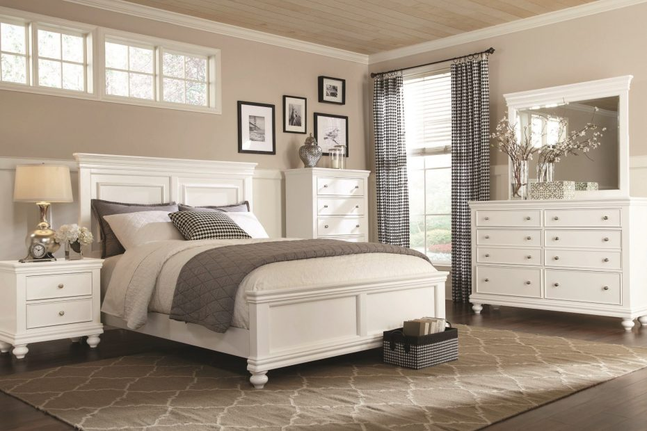 Clearance White 6 Piece Queen Bedroom Set Essex Pinterest