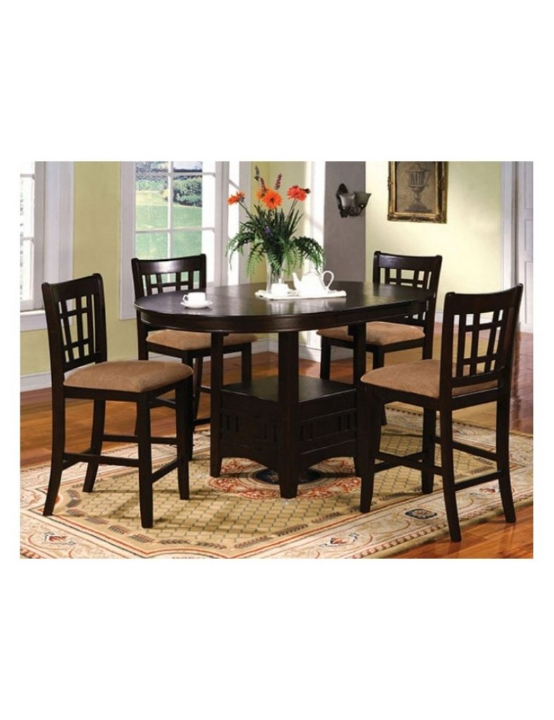 Cm3032 Metropolis Import Furniture Of America Counter Height Dining