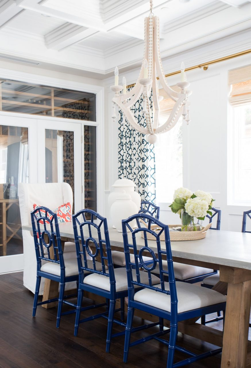 Coastal Prep In The Pacific Palisades Entry Living Dining
