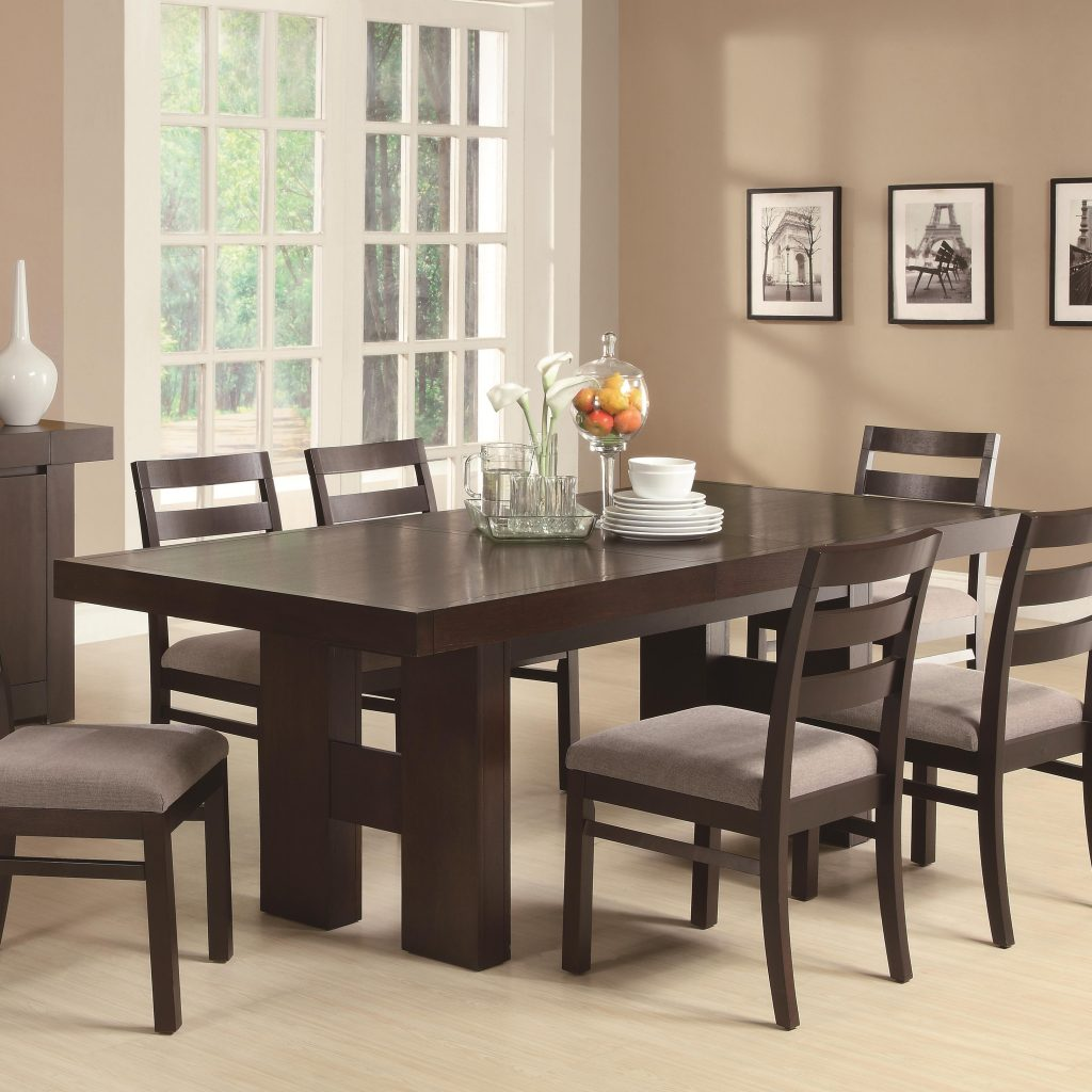 Coaster Dabny Dining Table With Pull Out Extension Value City