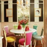 Colored Dining Table Blulynxco