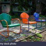 Colorful Vintage Chairs Lawn Garden Furniture New Jersey Usa