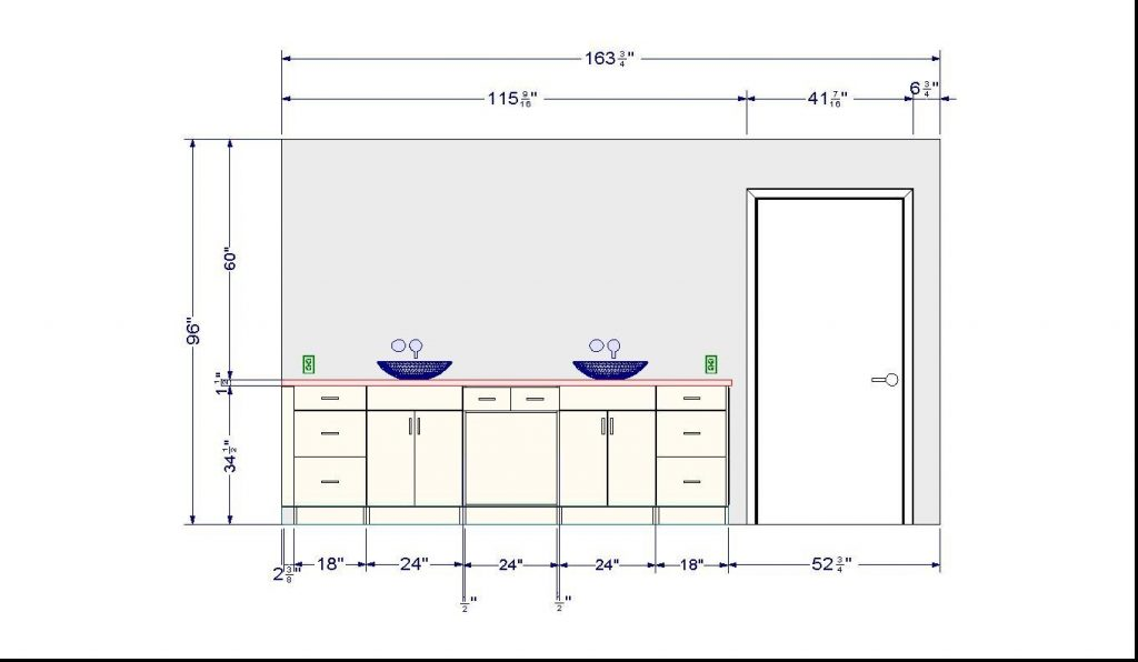 Considering Bathroom Vanity Height Different Types Of And Home And