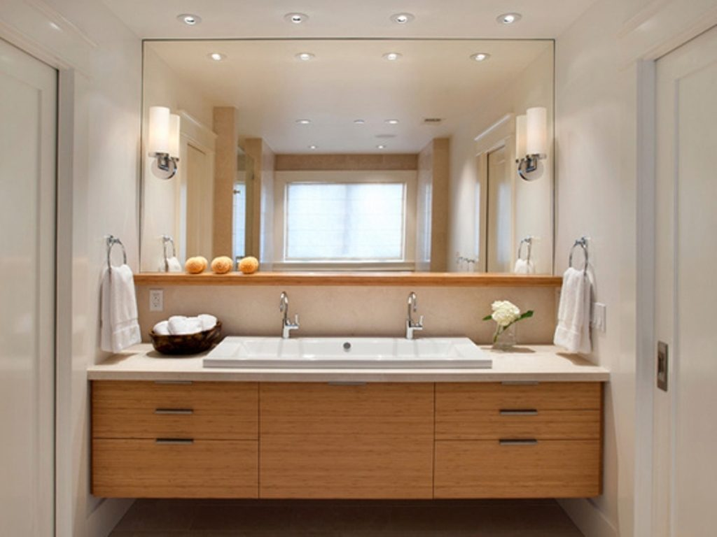 Contemporary Bathroom Vanity Light Fixtures Top Bathroom