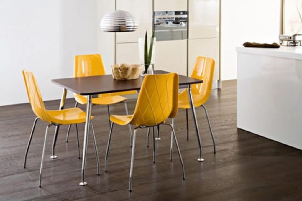 Contemporary Dining Room Chairs Trellischicago