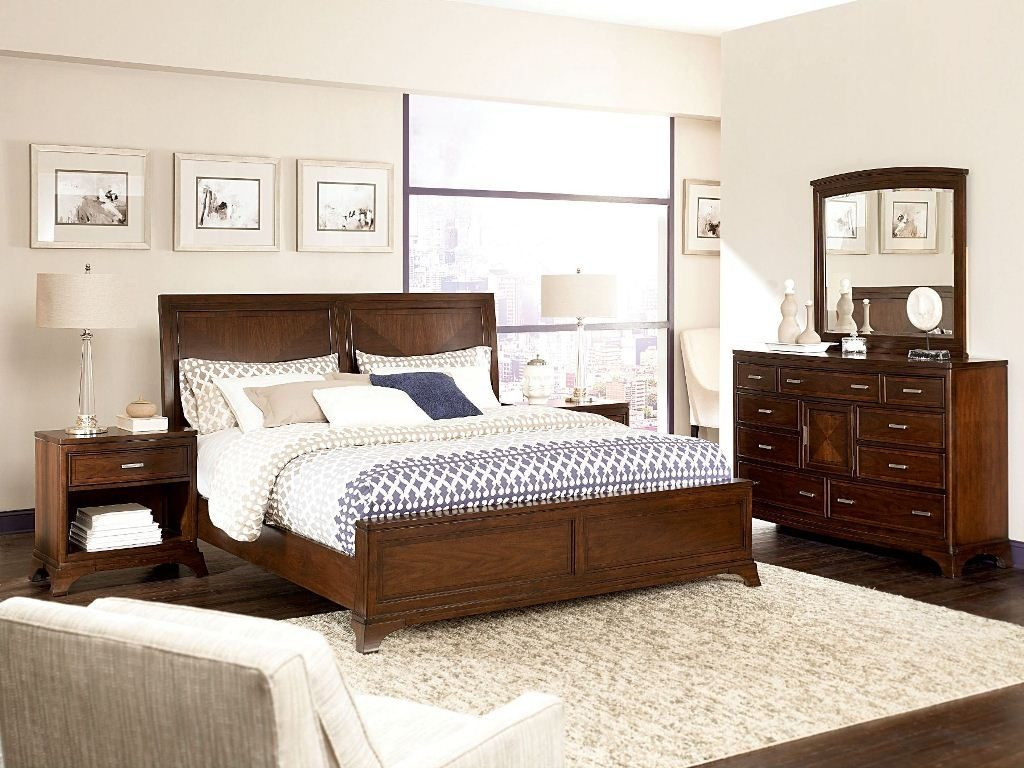 Contemporary Solid Wood Bedroom Furniture Furniture Home Decor With