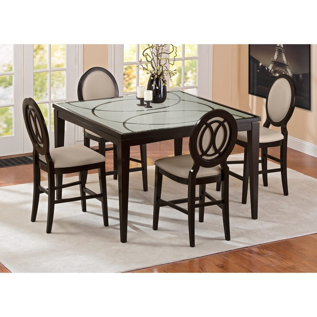 Cosmo Ii 5 Pc Counter Height Dining Room Value City Furniture