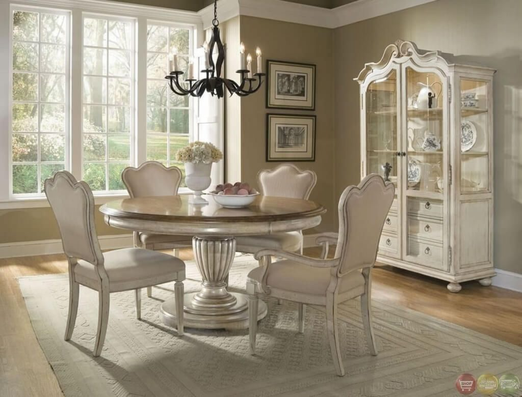 Country Formal Dining Room Round Table Rememberingfallenjs