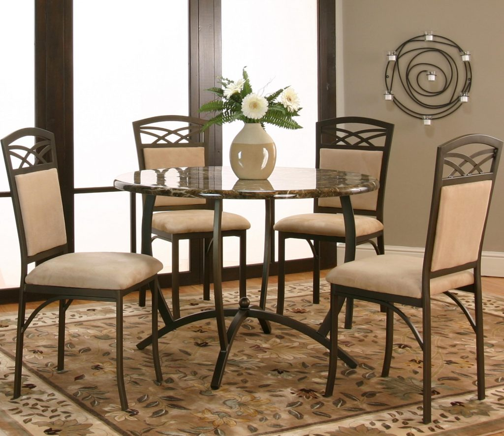 Cramco Inc Atlas 5 Piece Table And Chair Set Value City Furniture