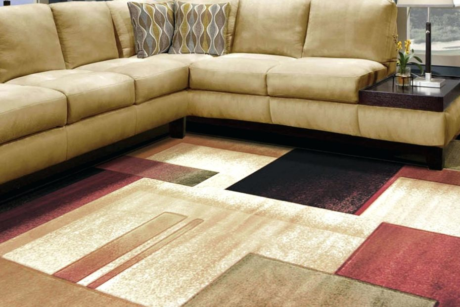 Cream Black Red Geometric Area Rugs Cheap For Floor Covering Idea