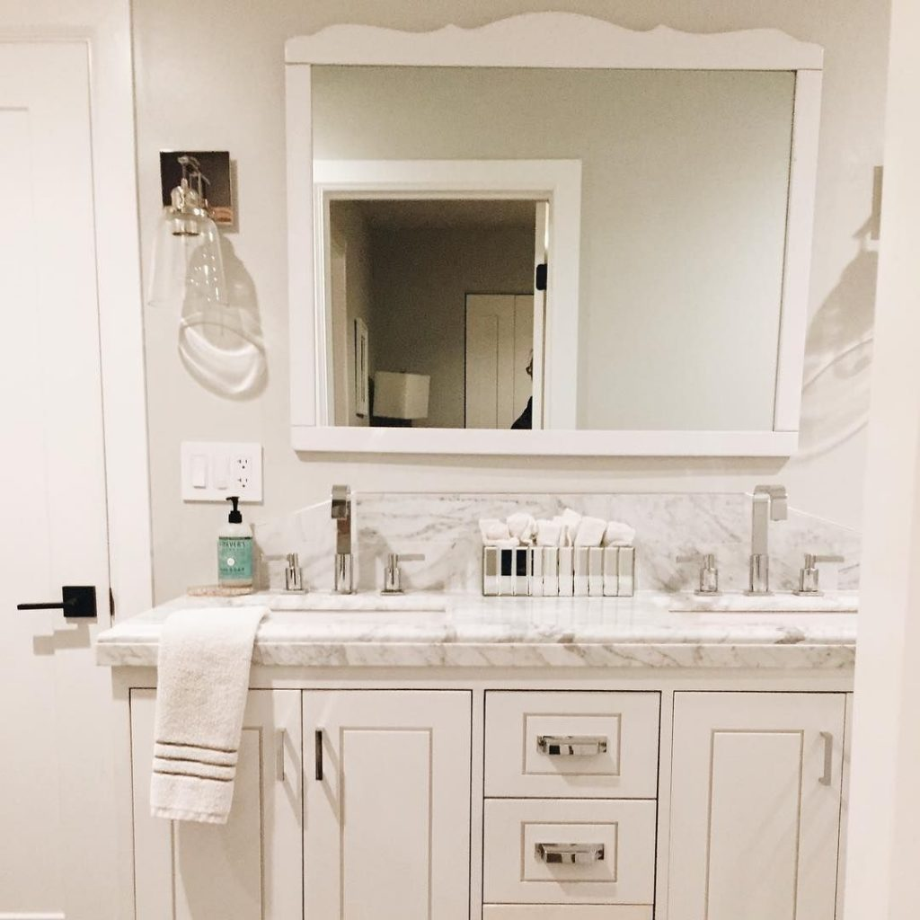 Custom Built Vanity Made For A Carrara Top Found On Craigslist Isn