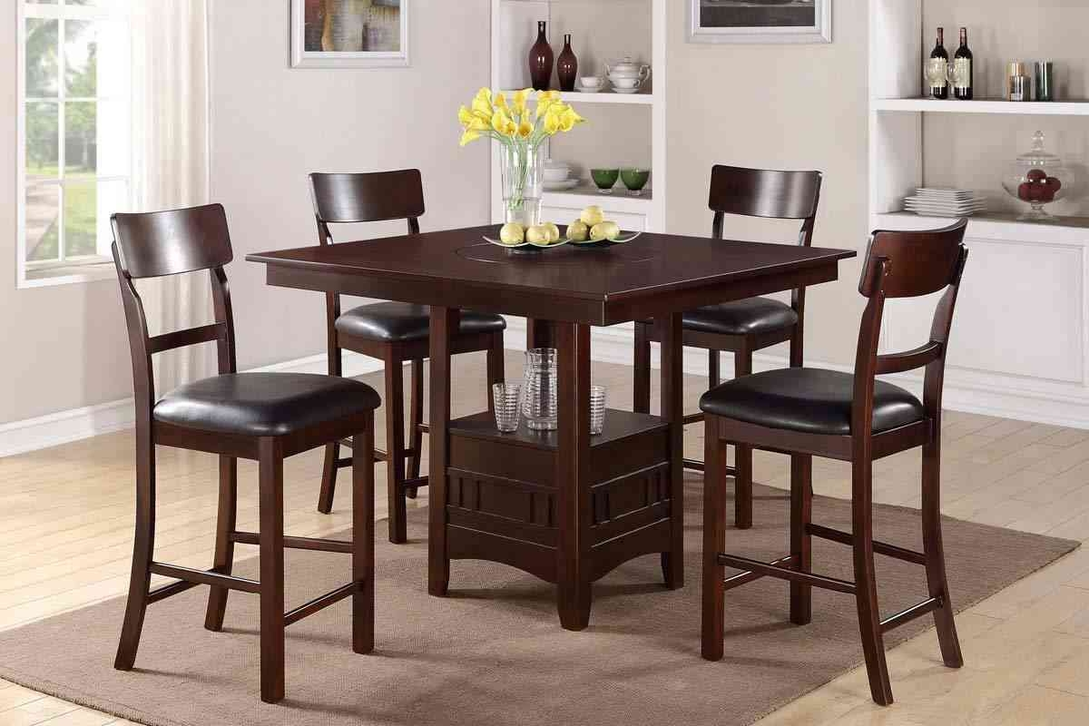 Daring Tall Kitchen Table Sets Luxury Counter Height Dining High Set Layjao
