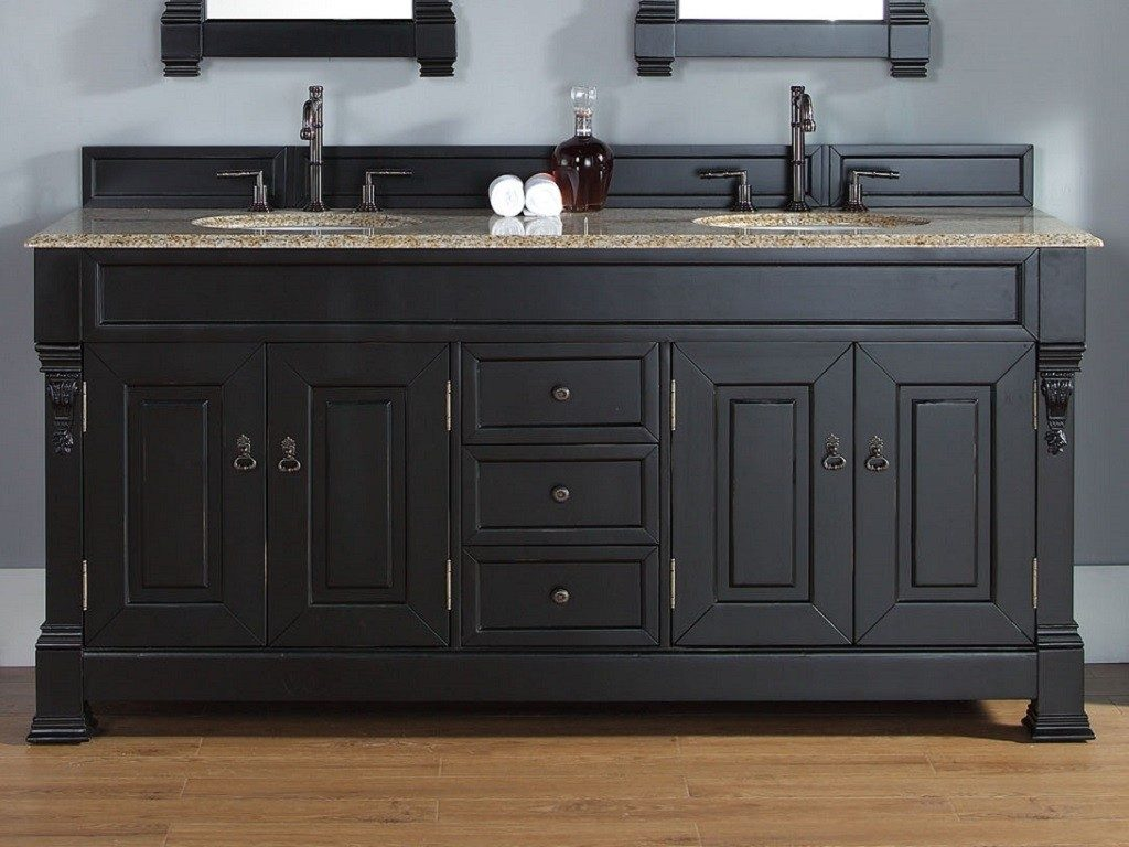 Dark Black Bathroom Vanities Finding The Best A Buyers Guide
