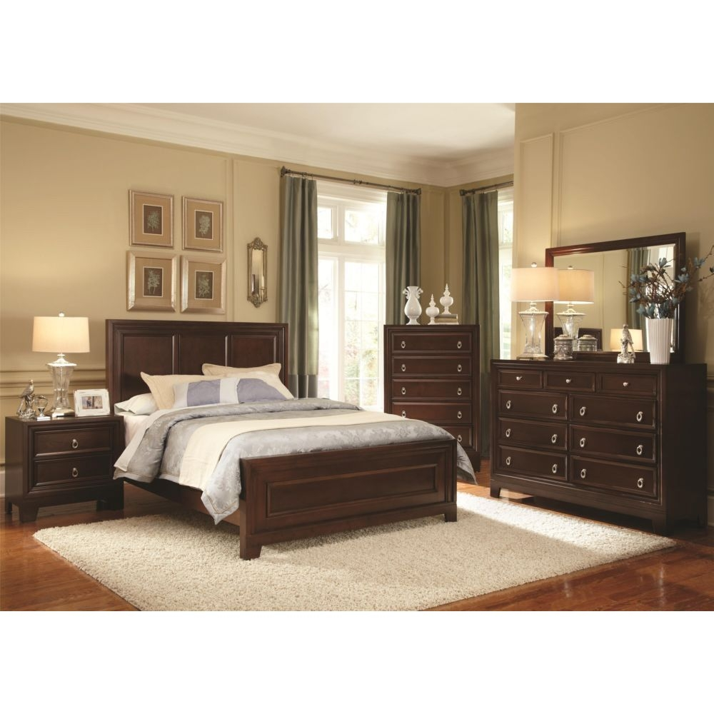 Dark Wood Bedroom Sets Awesome With Picture Of Dark Wood Ideas At