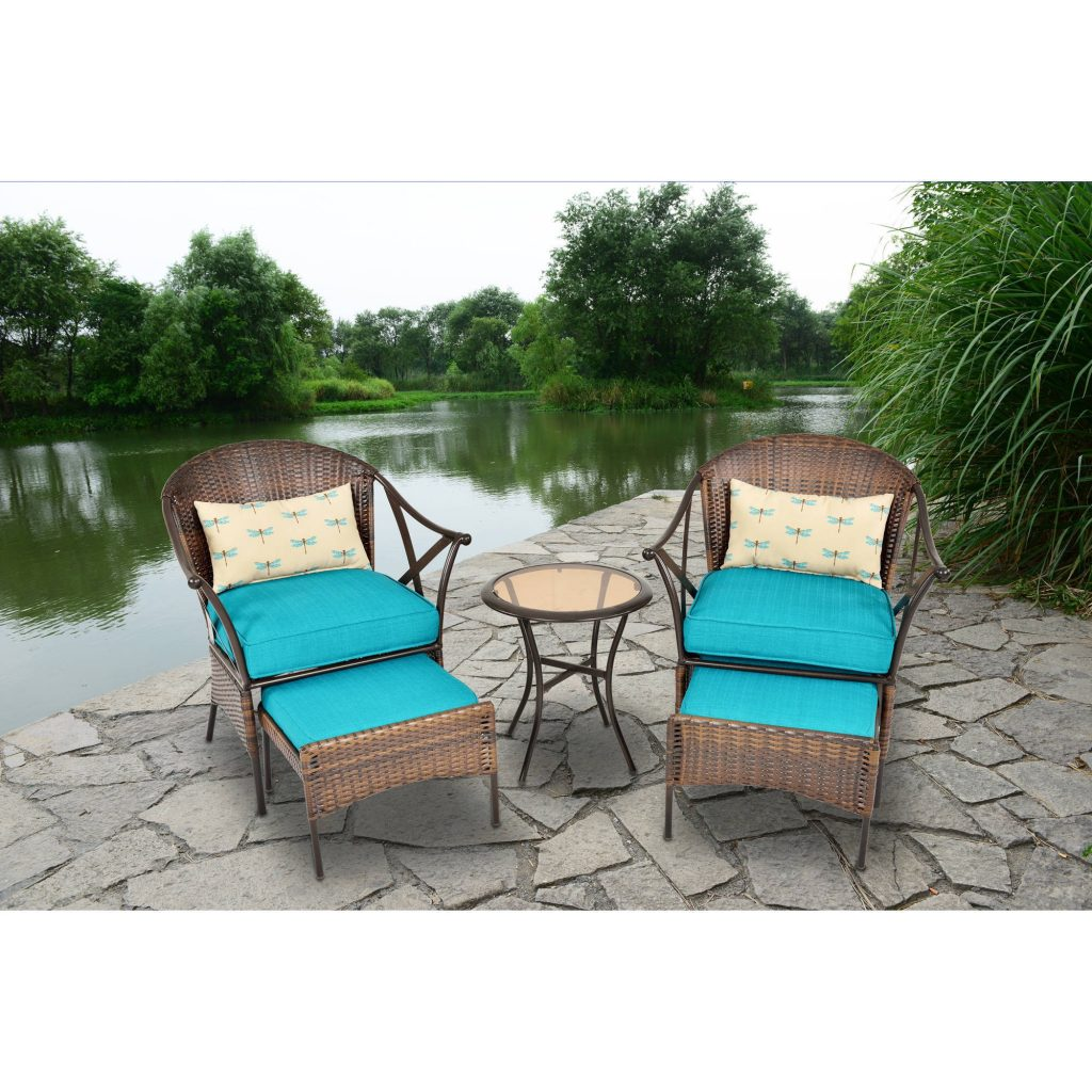 Deal 3 Ps Outdoor Rattan Patio Furniture Set Backyard Garden Furniture