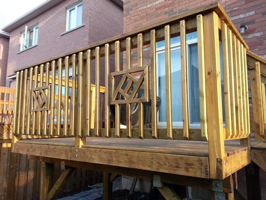 Deck Railing Designs Wood Oltretorante Design Simple Wood Deck
