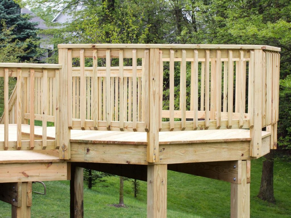 Deck Railings Ideas And Options Hgtv
