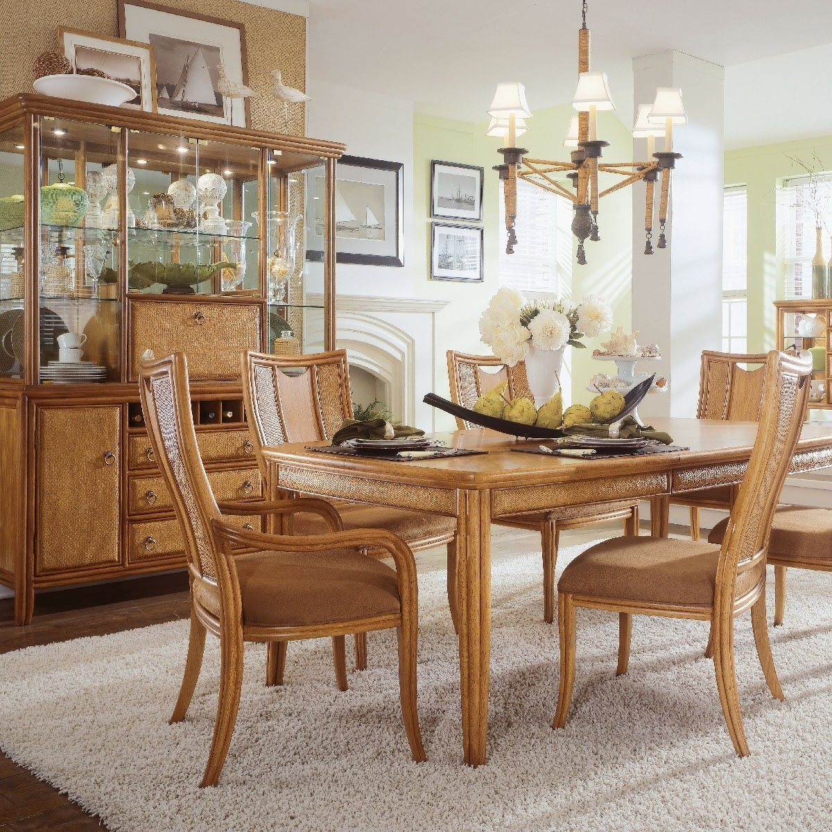 Simple Dining Room Design: Decorating Ideas For Dining Room Tables Simple Ideas Full