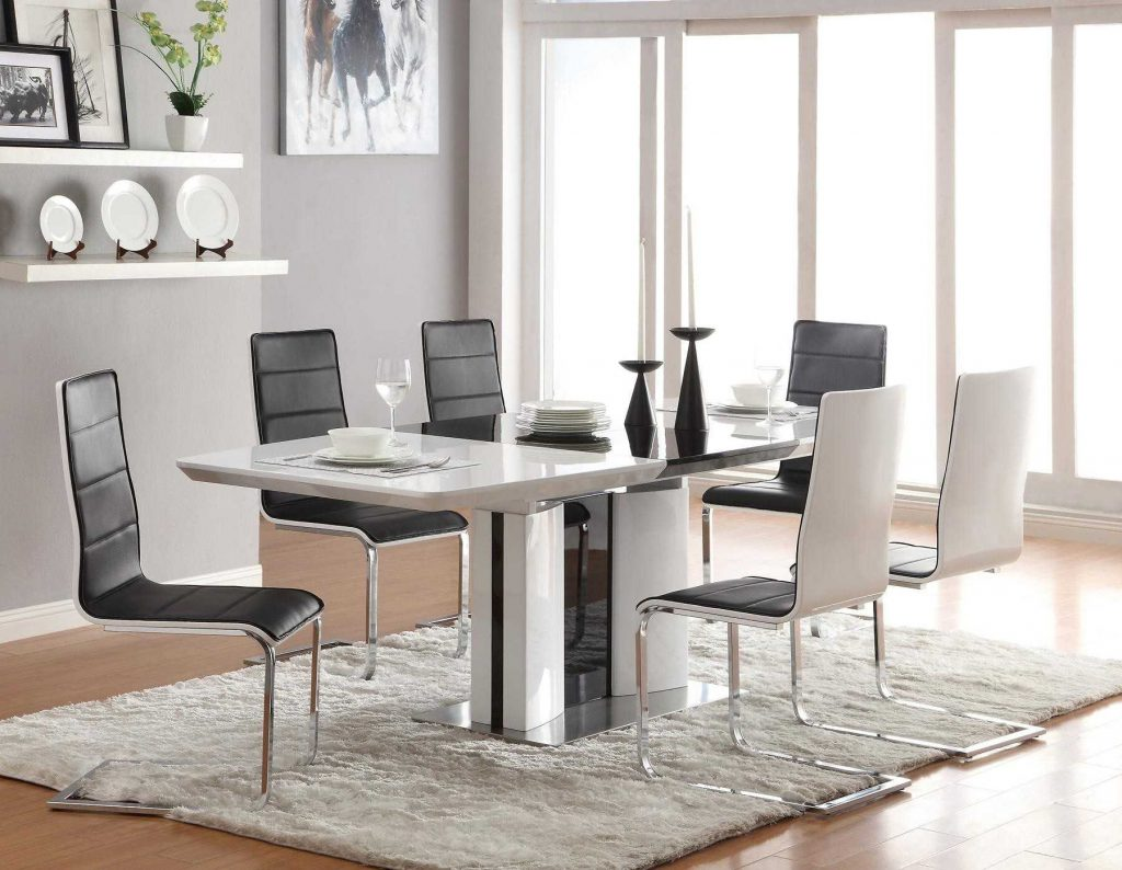 Decorating Modern Dining Room Collection Including Incredible Chairs