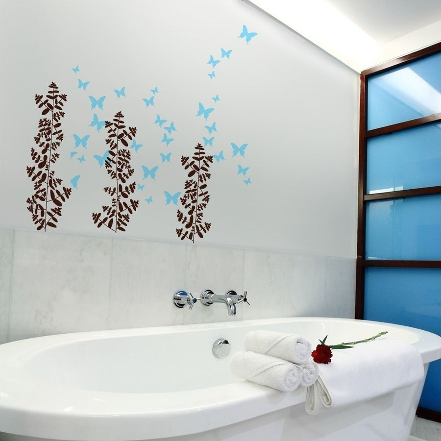 Decoration Bathroom Wall Art Ideas Avaz International With Decor 1