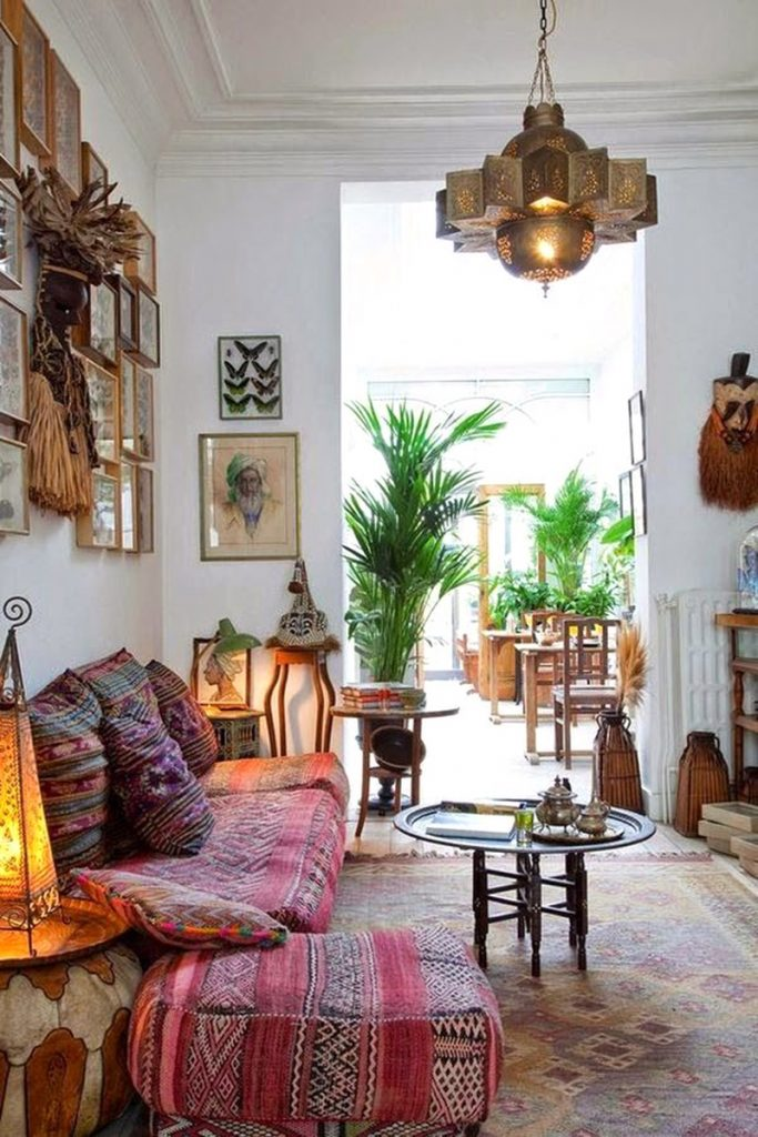 Decoration Bohemian Bedroom Ideas Style Home Decor Boho Fall Door