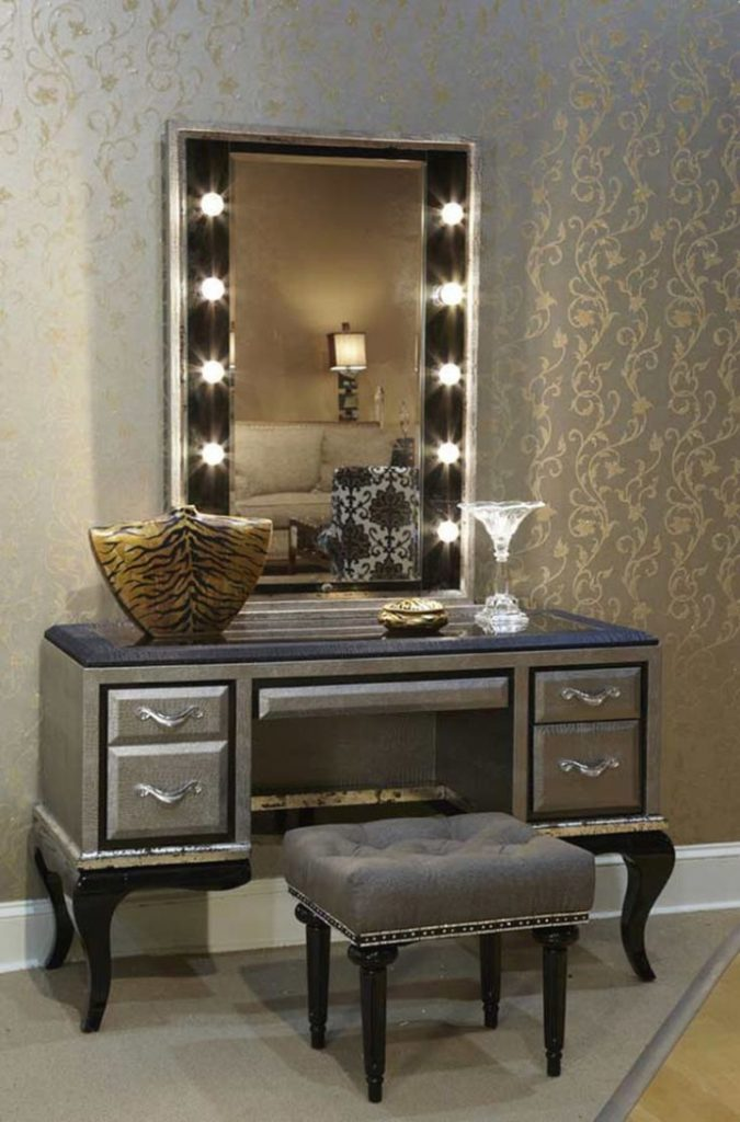 Decorative Vanity Furniture Set 17 Bedroom Sets For Sale Lighted