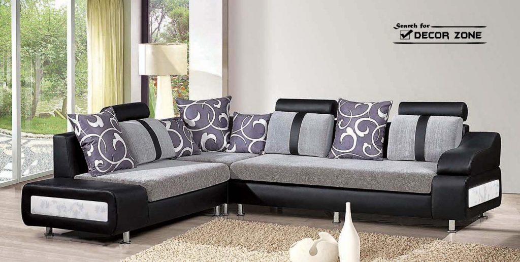 Delightful Modern Living Room Sofa Sets 25 Stock Photo White With