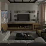 Design Ideas Lenalarina White Beige Living Room Bachelor Pad House