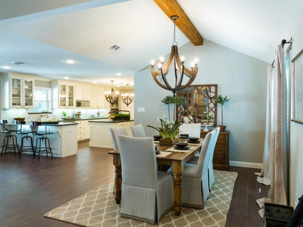 Dining Area And Kitchen Hgtv