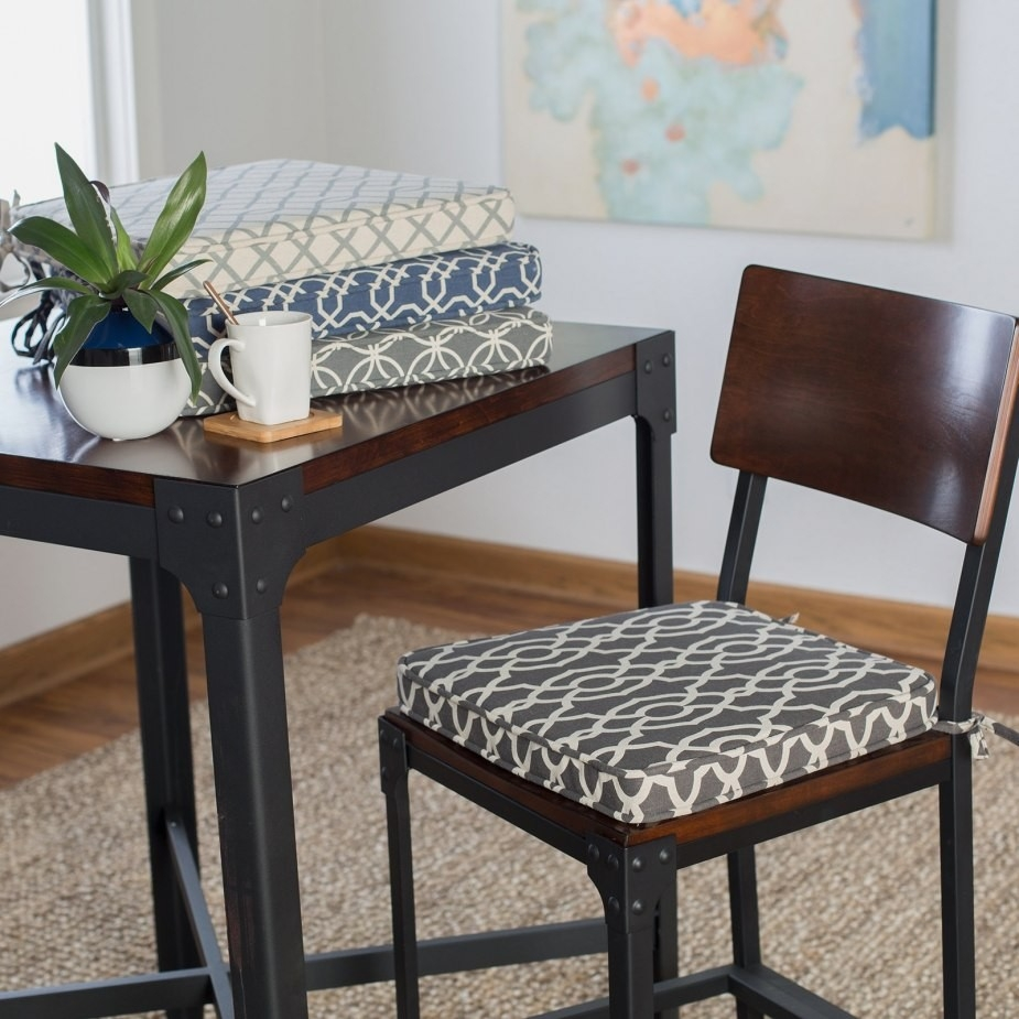Dining Chair Seat Pads With Ties Lovely Seat Cushions Dining
