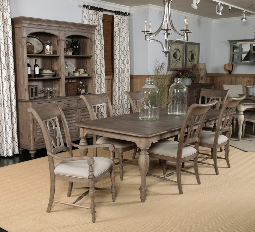 Dining Room Alluring Kincaid Dining Table In Rooms Outlet Room Set