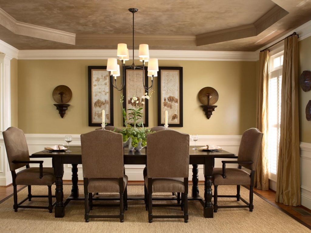 Dining Room Amazing Traditional Dining Room Wall Color Ideas Table