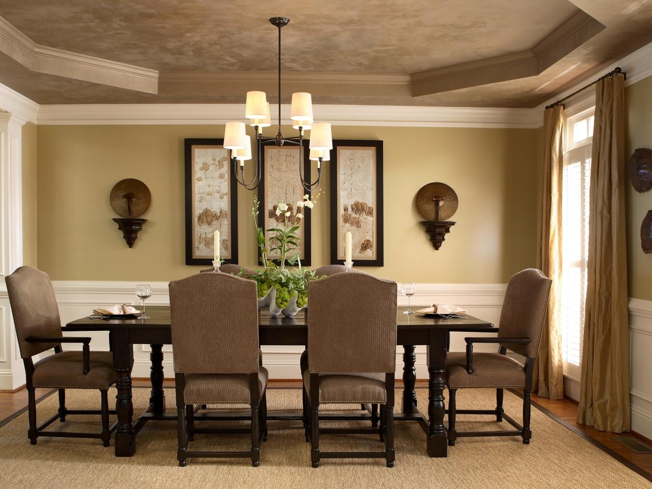 Dining Room Amazing Traditional Dining Room Wall Color Ideas Table Layjao