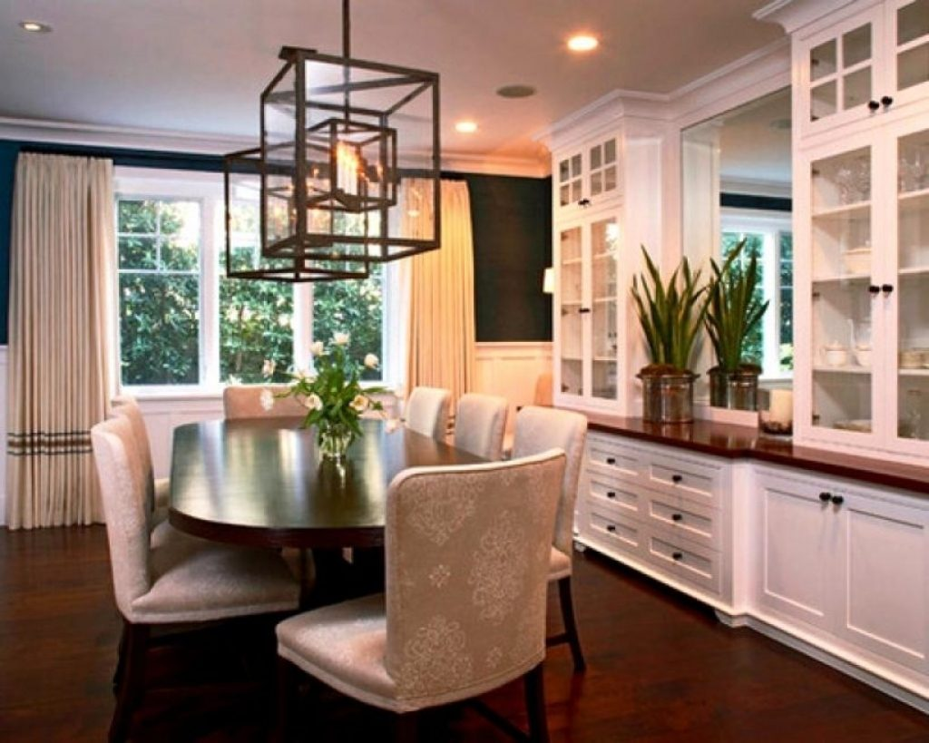 Dining Room Built Ins Contemporary Dining Room Built In Cabinets