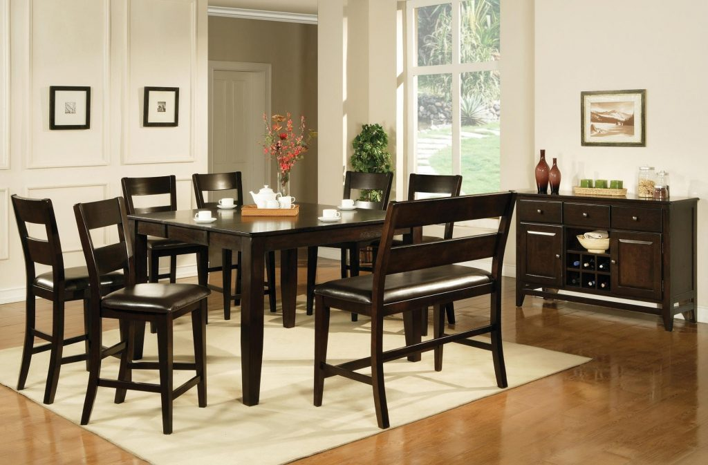 Dining Room Buy Victoria Counter Height Dining Table In Dark