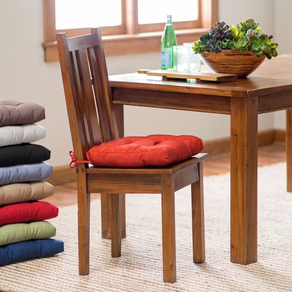 Dining Room Chair Cushions Deauville 16 X In Tufted Kitchen Cushion