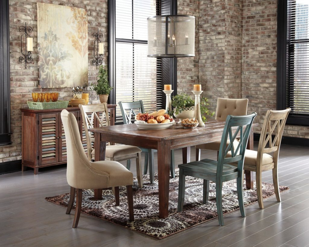 Dining Room Chair Dining Table Cottage Chic Dining Room White