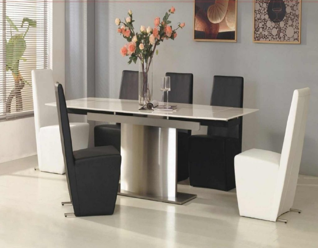 Dining Room Chairs Modern Pertaining To Contemporary Dining Chairs