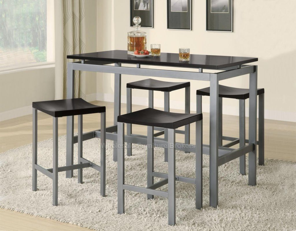 Dining Room Counter Height Dinette Sets Tall Dining Room Table