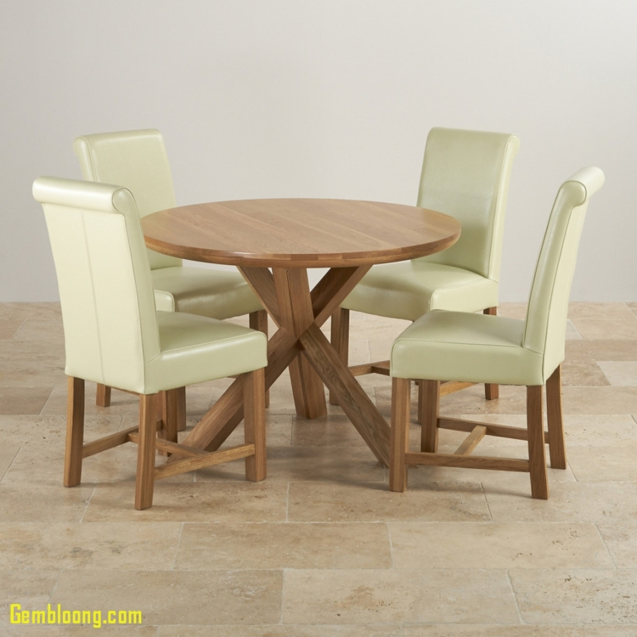 Dining Room Dining Room Leather Chairs Lovely Natural Oak Round