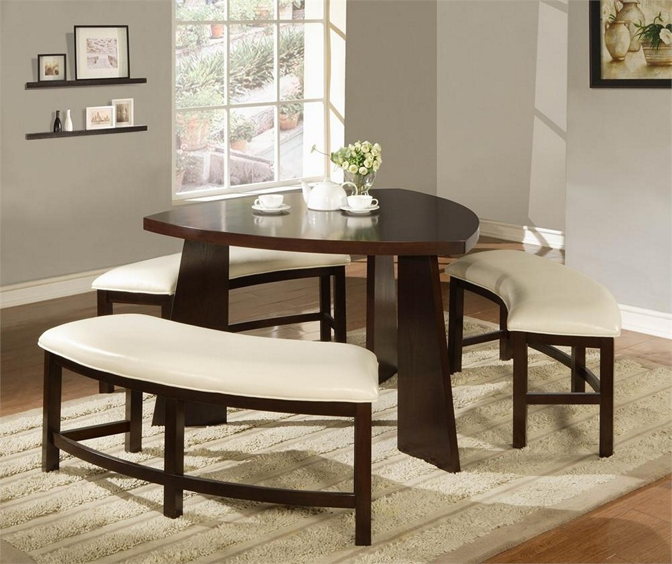 Dining Room Dining Room Sets With Bench Stunning Design Triangle