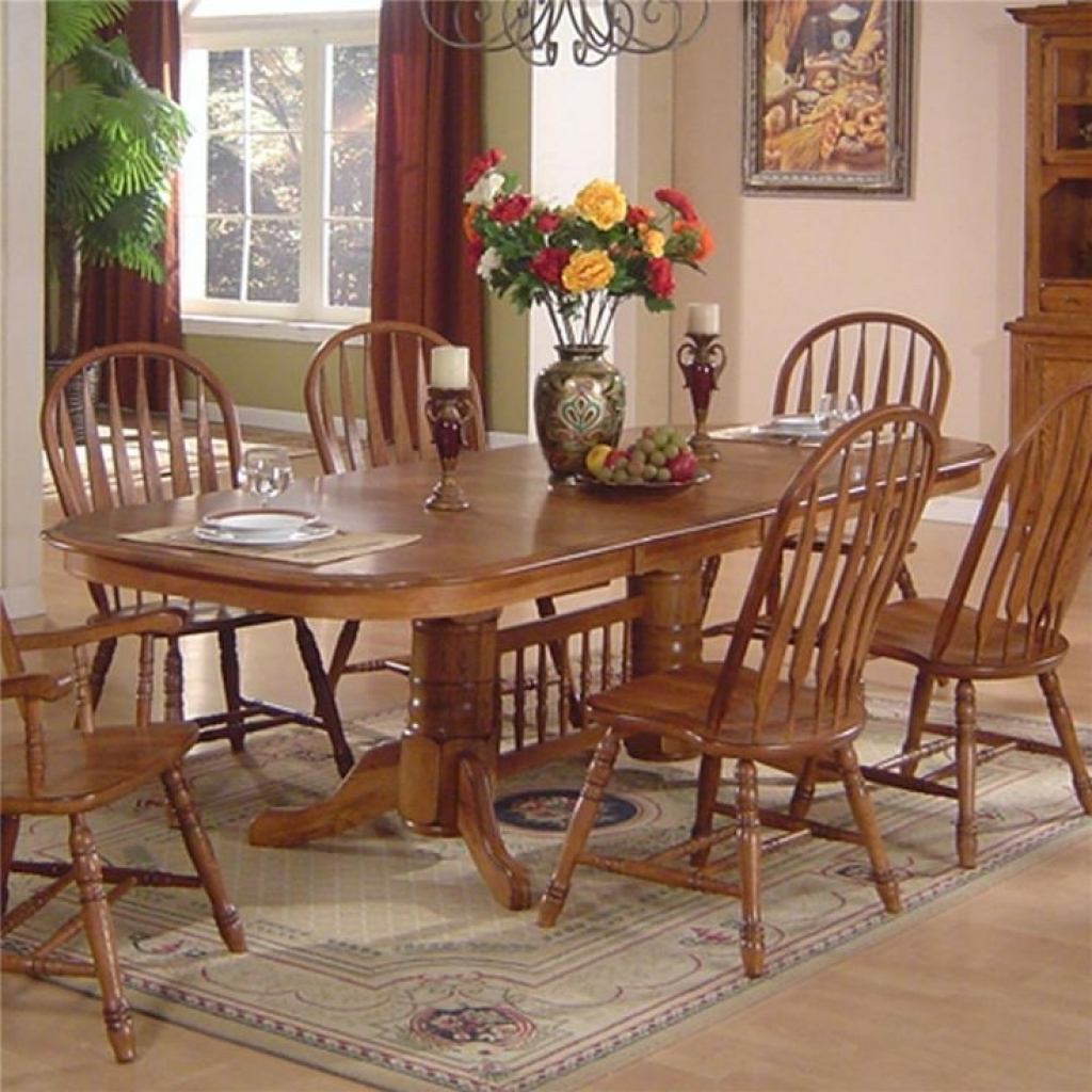 Dining Room Furniture Oak Fabulous Oak Dining Table And Chairs Best