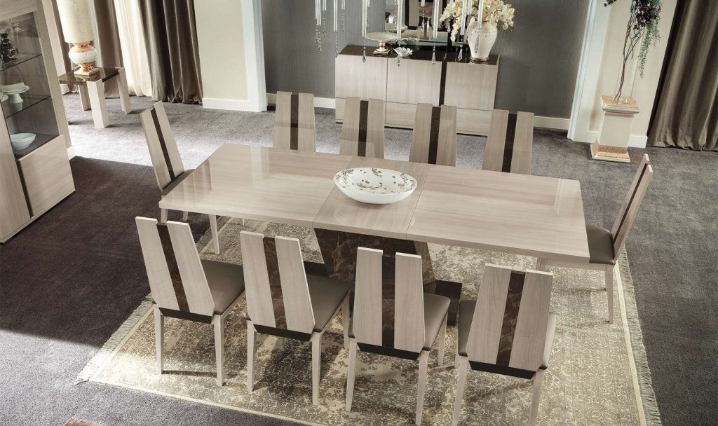 Dining Room Furniture The Best Sets Pertaining To 10 Chair Set