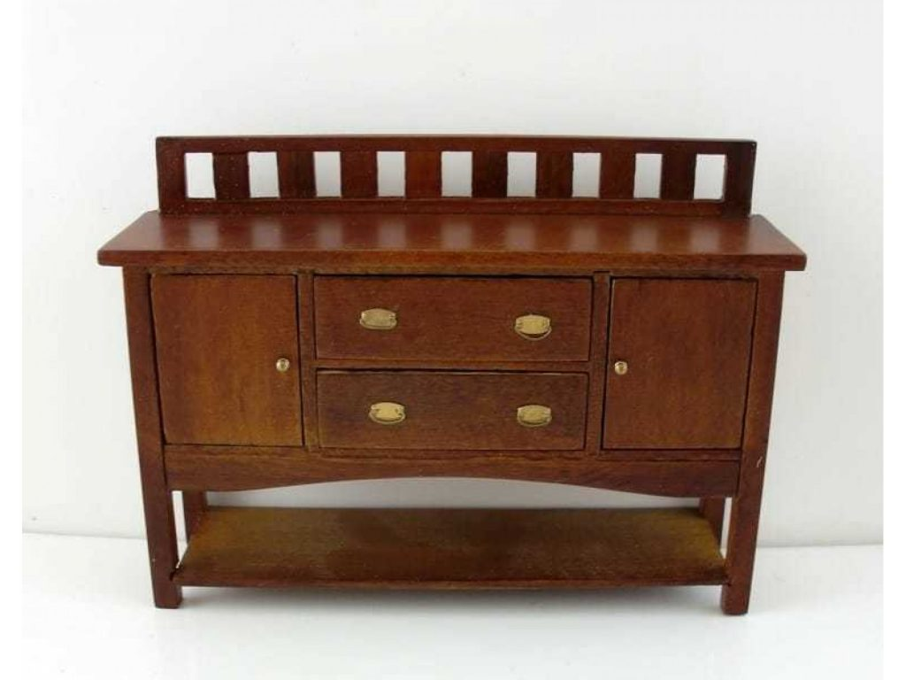 Dining Room Furniture Walnut Buffet Table Sideboard Town Square